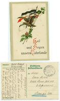 Alte Ansichtskarte Postkarte Feldpost I. Weltkrieg 1915