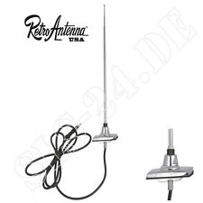 FORD MUSTANG MERCURY CAPRI Radio eckige Retro Antenne Stabantenne für Oldtimer