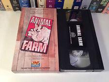 Animal Farm Rare TV Movie Family Drama VHS 1999 OOP HTF Henson Live Action TNT