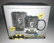 BATMAN HEAT CHANGE MUG - NIB collectible