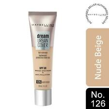 Maybelline Dream Urban Cover SPF50 All-In-One Protective Makeup, 126 Nude Beige