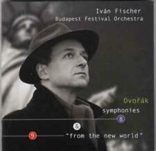 Dvorak Symphonies 8 & 9 From The New World MUSIC AUDIO CD Ivan Fischer orchestrs