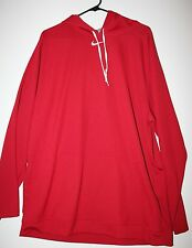 Men's  Nike Pullover Hoodie - Red- with White Hood - XL