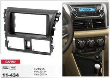 CARAV 11-434 2DIN Car Radio Dash Kit panel for TOYOTA Vios, Yaris 2013+