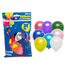 Birthday Wedding Party Baloons 30 Pack All in Assorted Colours Party Decoration