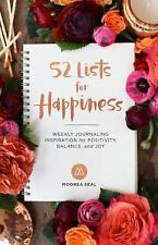 52 LISTS FOR HAPPINESS - SEAL, MOOREA/ MANCHIK, JULIA (ILT)/ MANCHIK, YURIY (PHT