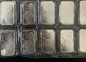 Una & the Lion 1 oz Silver Bar 999.9 Fine Silver #4