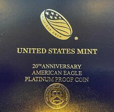 20th Anniversary American Eagle Platinum Proof Coin
