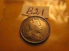 1903 H Canada Rare 5 Cent Five Cent Silver Coin  ID#B21.