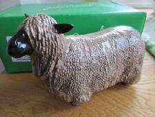 Original Beswick Wensleydale ovejas en caja y perfecto inglés hecho