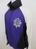 Vintage Logo 7 Colorado Rockies Men's MLB Baseball Nylon Full Zip Jacket Medium
