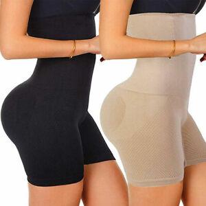 Women's Tummy Control Shapewear High Waist Body Shaper Shorts Slimming Knickers