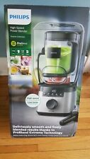 Philips - Avance Collection 10-Speed Blender - Stainless Steel/Black