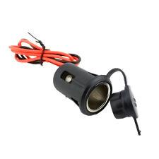 Imperméable 12V-24V Puissance Moto Bateau ATV Allume-cigare Socket Plug
