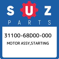 31100-68D00-000 Suzuki Motor assy,starting 3110068D00000, New Genuine OEM Part