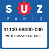 31100-68D00-000 Suzuki Motor assy,starting 3110068D00000, New Genuine OEM Part