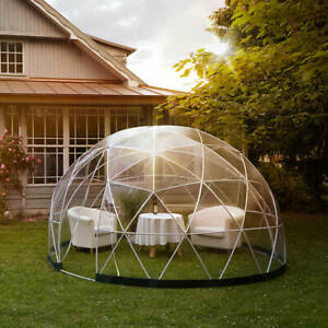Pod Igloo Dome Garden/Pub/Restaurant Dining/Glamping All Weather Shelter