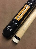 Meucci Pool Cue RB-5 Black w/ Black Dot Shaft & FREE Shipping
