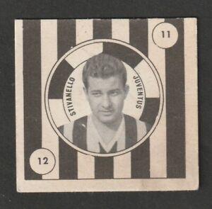 FIGURINA CALCIATORI ALBUM VAV 1957-58 JUVENTUS STIVANELLO MAI ATTACCATA