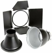 Bowens Bw-6650 Basic Effects Lighting Reflector Kit (Black)