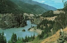 Postcard Siska Creek Fraser Canyon British Columbia Canada