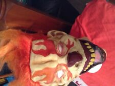 New Clown Mask with hair