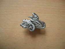 Pin SPILLA CAN-AM SPYDER ST-s relief BADGE MOTO ART. 1252 triciclo Trike