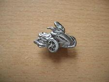 Pin Anstecker Can-Am Spyder ST-S Relief Badge Motorrad Art. 1252 Dreirad Trike
