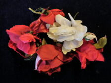 Vintage Modisteria Flower Collection 5.1-12.7cm Rosso Bianco Tedesca Giappone