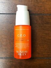 Sunday Riley C.E.O. Ceo Rapid Flash Brightening Serum 1 oz 30ml ~ New! $85 Rv!🧡