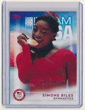 SIMONE BILES 2016 TOPPS U.S. OLYMPIC TEAM #38 FINAL FIVE SUMMER OLYMPICS