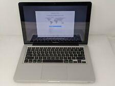 """Apple Macbook Pro 9,2 MD101LL/A i5-3210m 2.50Ghz 8GB 13.3"""" 640GB HDD Used"""