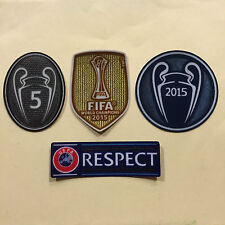 2015-16 season FC Barcelona jersey patches- UEFA CHAMPIONS LEAGUE- Official