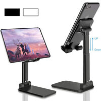 Universal Adjustable Tablet Stand Desktop Mount Holder Mobile Phone iPad iPhone