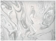 Kenneth James Insignia Marble Wallpaper Pearl/Silver FD24458