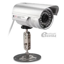 """1/4"""" CMOS 700TVL IR CCTV Outdoor Waterproof Security Surveillance Camera Silver"""