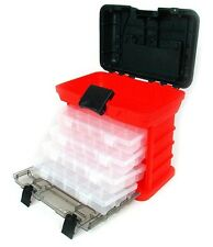 Storage Organizer Cabinet Portable Tool Box Case Plastic Parts Container Drawer