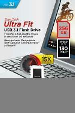 Sandisk 16GB 32GB 64GB 128GB 256GB Ultra Fit USB 3.1 Drive SDCZ430 Wholesale New