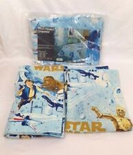 Vintage STAR WARS Pinch Pleated Drapes Draperies Curtains Princess Leia