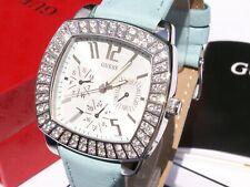 Guess 11037l4 ladies polish silver swarovski reloj mujer mejoroferatarelojes