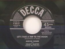 """MERVIN SHINER """"LET'S TAKE A TRIP TO THE MOON / ALMOST"""" 45"""