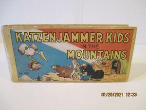 1934 Katzenjammer Kids in the Mountains Book #1005