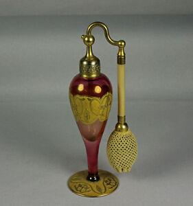 Cambridge Glass Company für DeVilbiss USA Parfumflasche - Perfumizer - Atomiseur