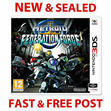 Nintendo 3DS/2DS Metroid Prime Federation Force Game NEW & Sealed PAL
