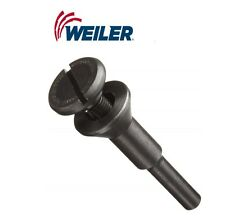 "Mandrel For 1/4"" Diameter Shank, Weiler 56490 3/8"" Or 9.5 mm"