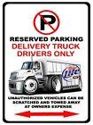 International Durastar Delivery Truck Miller Lite No Parking Sign NEW