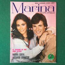 MARINA n.245/1982 COFFA BONACCHI Fotoromanzo Lancio (ITA) Rivista Magazine