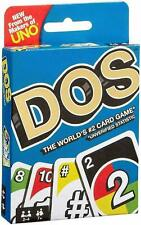 DOS Card Game Cards Wild Card Game From The Makers Of Uno Mattel Free Post UK