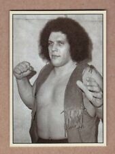 Andre The Giant rare signature photo card Plutograph serial numbered /200