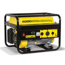 46596R - 3500/4000w Champion Generator, manual start - Refurbished